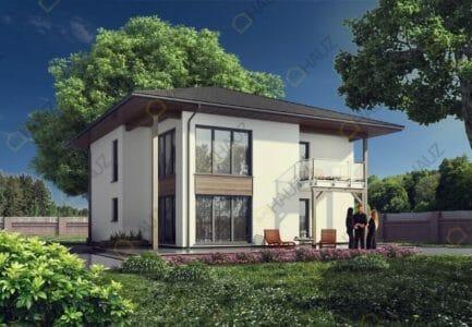 Двухэтажные каркасные дома