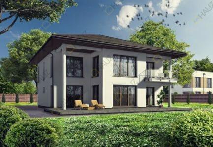 Двухэтажные дома из блоков